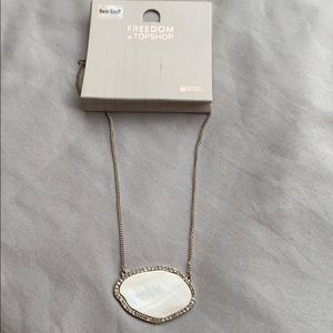 Topshop Shell Necklace